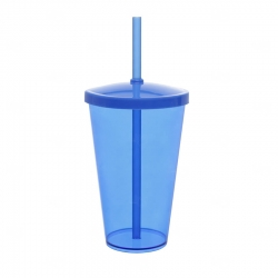 Copo Personalizado - 550ml (Leitoso ou Cristal) Azul