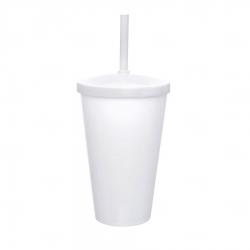 Copo Personalizado - 550ml (Leitoso ou Cristal) Branco