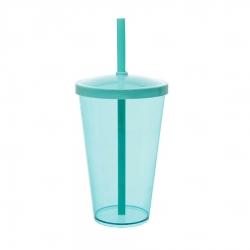 Copo Personalizado - 550ml (Leitoso ou Cristal) Verde água