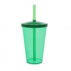Copo Personalizado - 550ml (Leitoso ou Cristal) Verde
