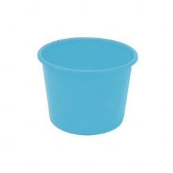 Balde De Pipoca Personalizado - 1,5 L Azul Claro