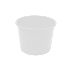 Balde De Pipoca Personalizado - 1,5 L Branco
