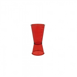 Dosador De Bebidas Personalizado - 50ml Vermelho