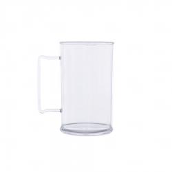 Caneca Personalizada De Chopp - 500ml (Leitosa ou Cristal) Transparente