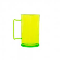Caneca Personalizada De Chopp - 500ml (Leitosa ou Cristal) Verde