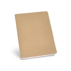 Caderno Cartão Personalizado - 21 x 14 cm Natural