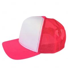 Boné Trucker Personalizado com Frente Branca Rosa Pink