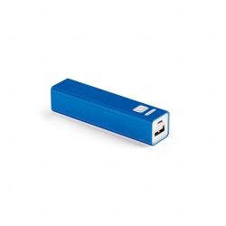 Bateria Portátil Personalizado - 1.800 mAh Azul