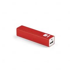 Bateria Portátil Personalizado - 1.800 mAh Vermelho
