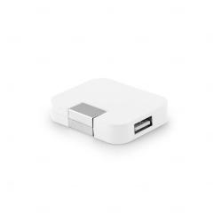 Hub USB Personalizado - 4 Portas Branco