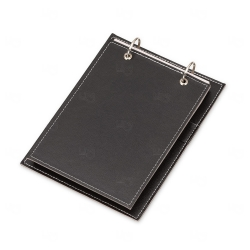 Bloco de Anotação Personalizado - 23,2 x 17 cm Preto