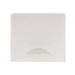 Porta Máscara Plástico Personalizado Branco