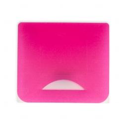 Porta Máscara Plástico Personalizado Rosa