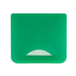 Porta Máscara Plástico Personalizado Verde