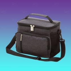 Bolsa Térmica Personalizada - 10L Preto