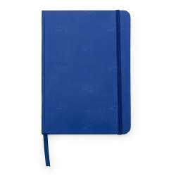 Caderneta Tipo Moleskine Personalizada - 21 x 14 cm Azul