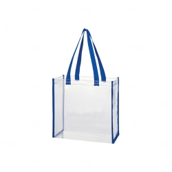 Bolsa Em PVC Personalizada Azul
