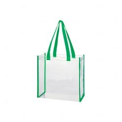 Bolsa Em PVC Personalizada Verde