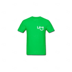 Camiseta Poliéster Personalizada Verde