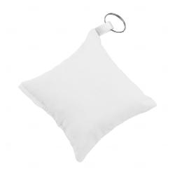Chaveiro Almofada Personalizado Branco