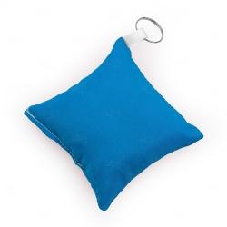 Chaveiro Almofada Personalizado Azul Claro