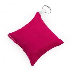 Chaveiro Almofada Personalizado Rosa Pink