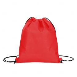 Sacochila TNT Personalizada - 38x33 cm Vermelho