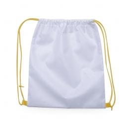 Mochila Saco em Nylon Personalizada - 41x36 cm Amarelo
