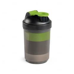 Coqueteleira Com Porta Suplementos Personalizada - 630ml Verde