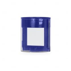 Porta Caneta com Porta Fotos Personalizado Azul