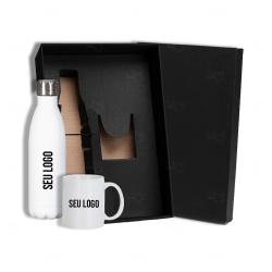 Kit Squeeze e Caneca Personalizado - 2 Peças