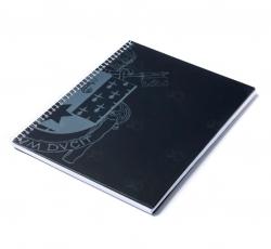 Caderno Personalizado  Capa Dura Couché - 24 x 18cm Preto