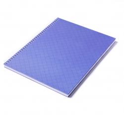 Caderno Personalizado  Capa Dura Couché - 24 x 18cm Azul