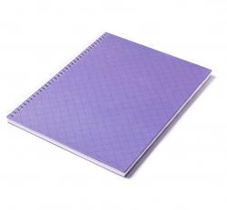 Caderno Personalizado  Capa Dura Couché - 24 x 18cm Roxo