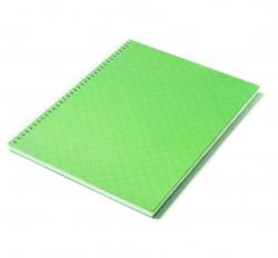 Caderno Personalizado  Capa Dura Couché - 24 x 18cm Verde