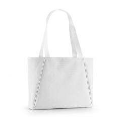 Bolsa de Praia Personalizada - 30x45 cm Branco
