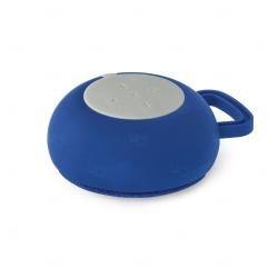 Caixa de Som com Microfone Personalizado Azul