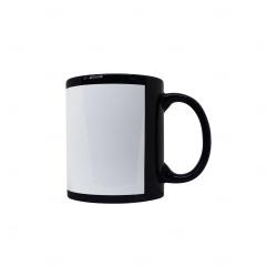 Caneca de Cerâmica c/ Tarja Personalizada - 325 ml