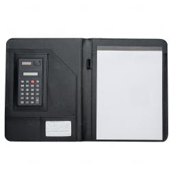 Pasta Convenção com calculadora Personalizada - 31,5 x 24,0 cm