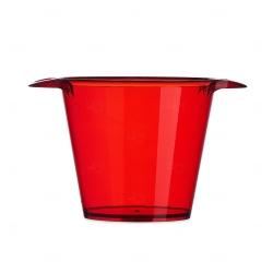 Balde de Gelo Personalizado - 4L Vermelho