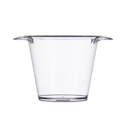 Balde de Gelo Personalizado - 4L Transparente
