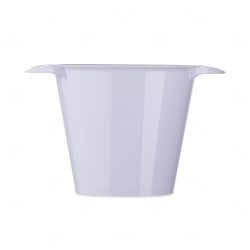 Balde de Gelo Personalizado - 4L Branco