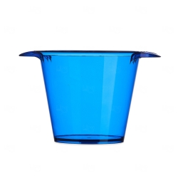 Balde de Gelo Personalizado - 4L Azul