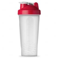 Coqueteleira com Misturador Personalizado - 600 ml Vermelho
