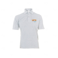 Camisa Polo Unissex Personalizada Branco