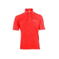 Camisa Polo Unissex Personalizada Vermelho
