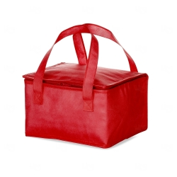 Bolsa Térmica Personalizada - 18,5x28 cm Vermelho
