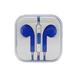 Fone de Ouvido Colorido Personalizado Azul