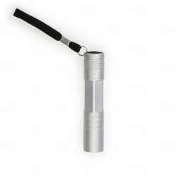 Mini Lanterna c/ Cordão Personalizada Prata