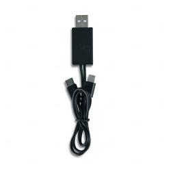 Cabo USB 3 em 1 Personalizado Preto